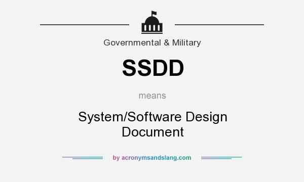 Ssdd System Software Design Document By Acronymsandslang Com
