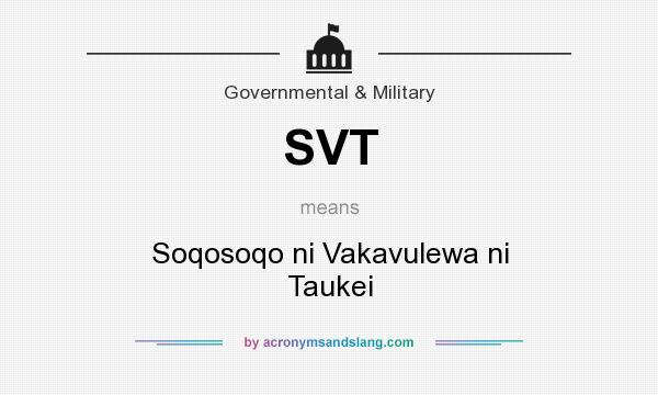svt soqosoqo ni vakavulewa ni taukei in government military by. Black Bedroom Furniture Sets. Home Design Ideas