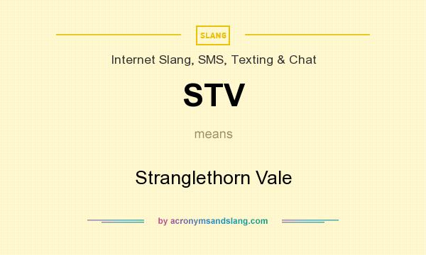 What does STV mean? It stands for Stranglethorn Vale