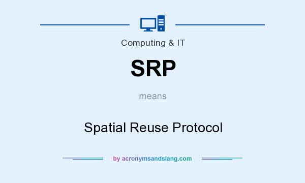 What does SRP mean? It stands for Spatial Reuse Protocol