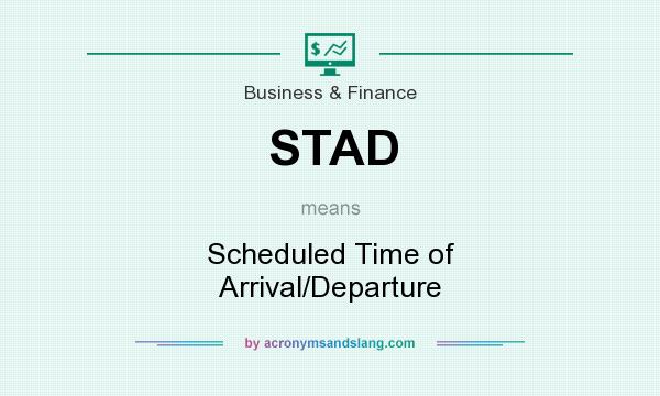 Stad Scheduled Time Of Arrival Departure By Acronymsandslang Com