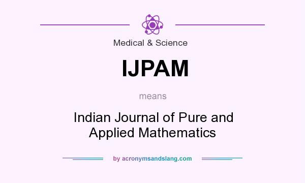 IJPAM - Indian Journal of Pure and Applied Mathematics in