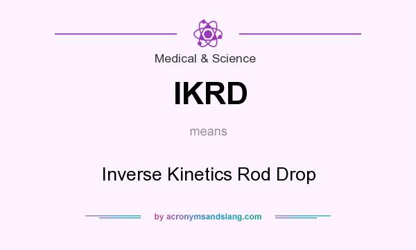 What does IKRD mean? - Definit...