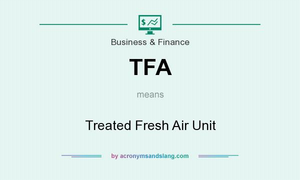 Tfa treated fresh air unit in business finance by for Frash meaning
