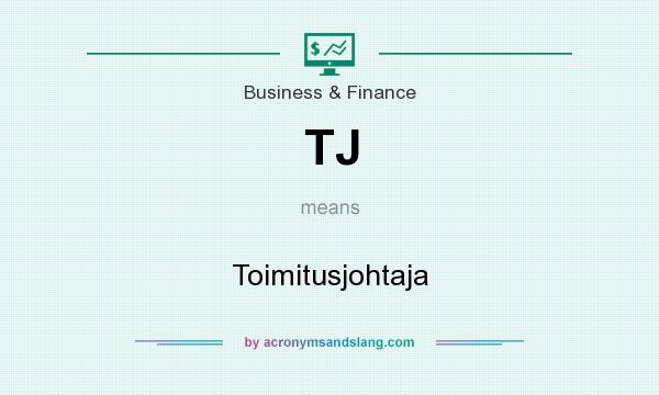 What does TJ mean? It stands for Toimitusjohtaja