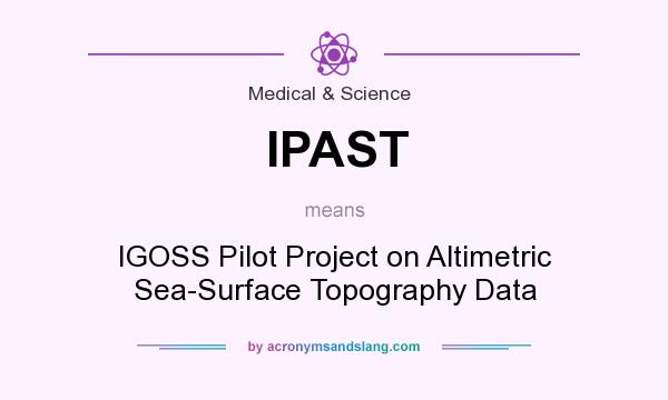What does IPAST mean? It stands for IGOSS Pilot Project on Altimetric Sea-Surface Topography Data