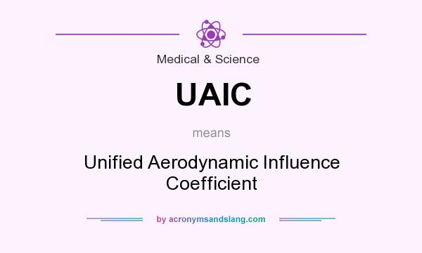 What does UAIC mean? It stands for Unified Aerodynamic Influence Coefficient