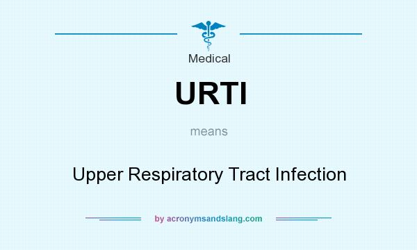 What does URTI mean? It stands for Upper Respiratory Tract Infection