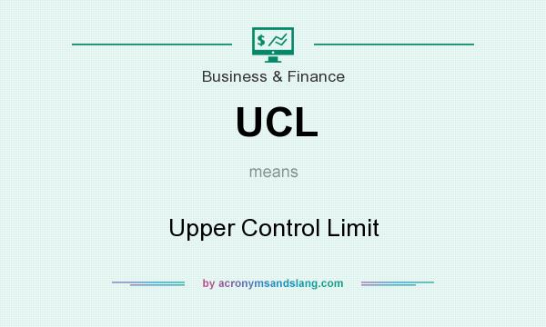What does UCL mean? It stands for Upper Control Limit