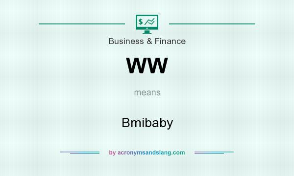 What does WW mean? It stands for Bmibaby