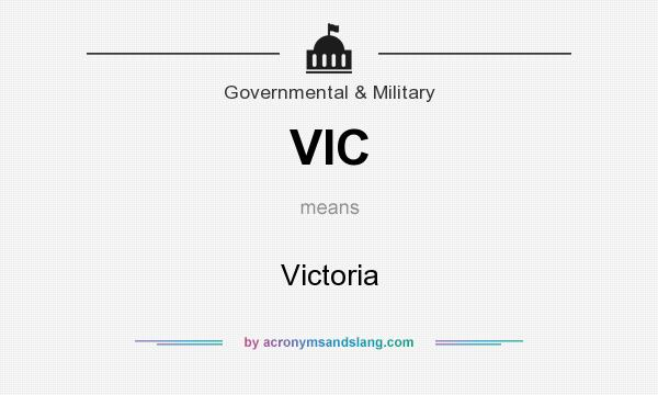 What does VIC mean? It stands for Victoria