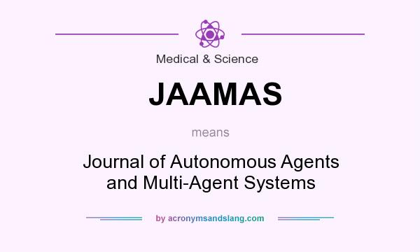 What does JAAMAS mean? It stands for Journal of Autonomous Agents and Multi-Agent Systems