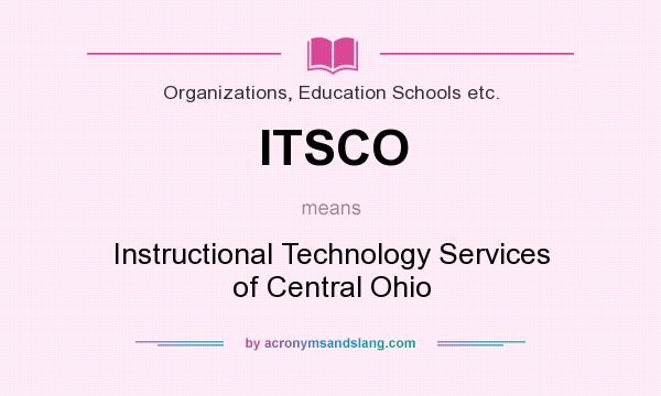 What Does Itsco Mean Definition Of Itsco Itsco Stands For