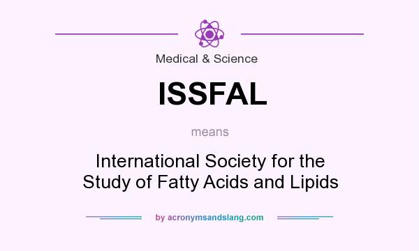What does ISSFAL mean? It stands for International Society for the Study of Fatty Acids and Lipids