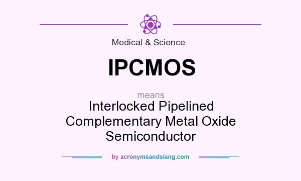 What does IPCMOS mean? It stands for Interlocked Pipelined Complementary Metal Oxide Semiconductor