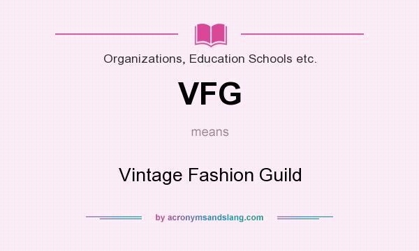 vintage fashion guild