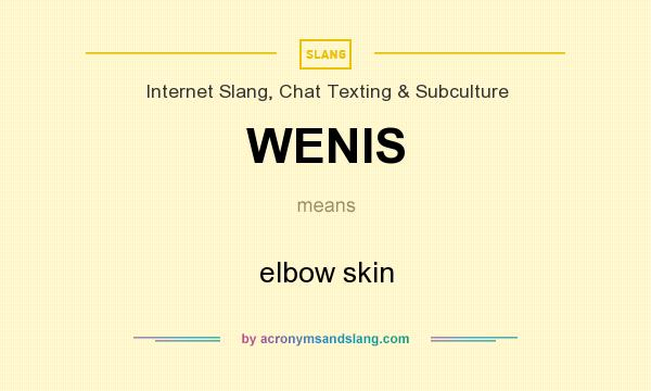 Elbow skin wenis