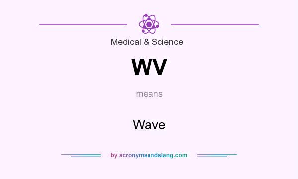 What does WV mean? It stands for Wave