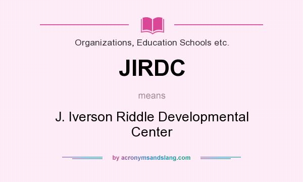What Does Jirdc Mean Definition Of Jirdc Jirdc Stands For J