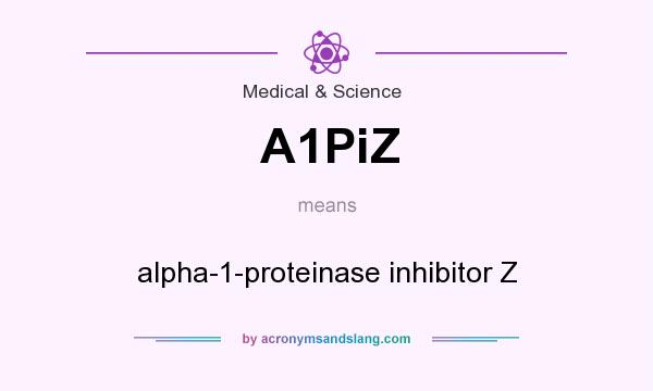 What does A1PiZ mean? It stands for alpha-1-proteinase inhibitor Z