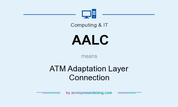 What does AALC mean? It stands for ATM Adaptation Layer Connection