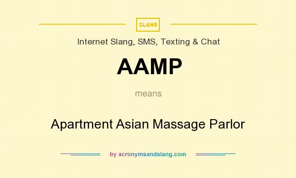 massage parlor what does mean