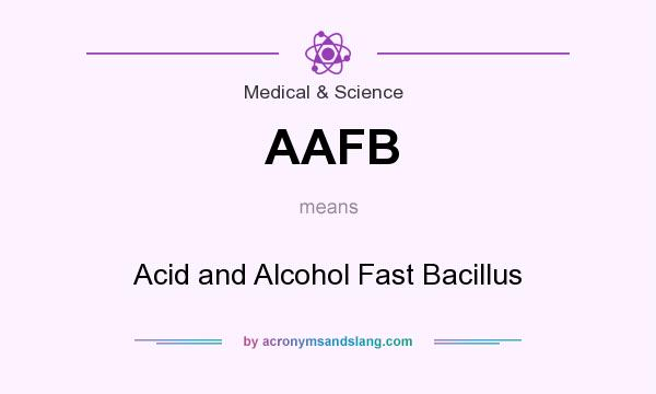 What does AAFB mean? It stands for Acid and Alcohol Fast Bacillus