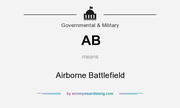 What does AB mean? It stands for Airborne Battlefield