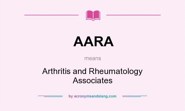 AARA - Arthritis and Rheumatology Associates in Undefined ...