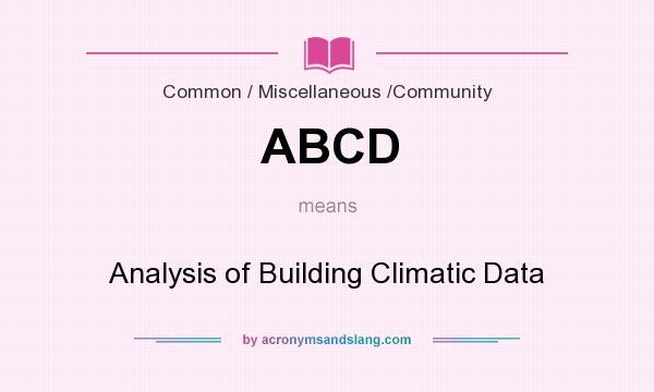 analysis of building