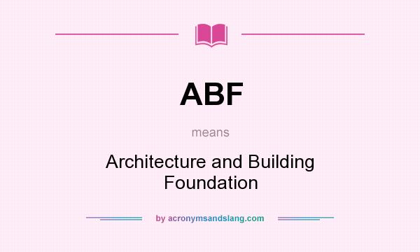 What does abf mean