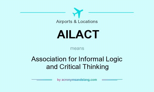 association for informal logic and critical thinking On reasoning and argument: essays in informal logic and on critical thinking (argumentation library) is the founding president of the association for informal.