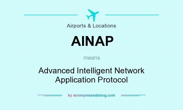 What does AINAP mean? It stands for Advanced Intelligent Network Application Protocol