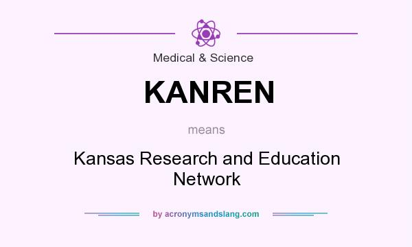 What does KANREN mean? It stands for Kansas Research and Education Network