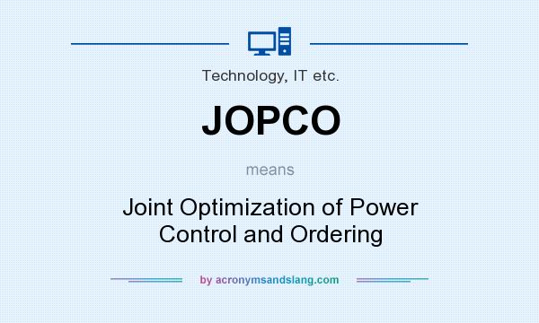 joint optimization of mean and standard