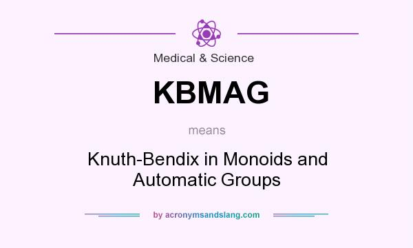 What does KBMAG mean? It stands for Knuth-Bendix in Monoids and Automatic Groups