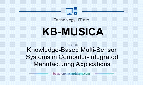 What does KB-MUSICA mean? It stands for Knowledge-Based Multi-Sensor Systems in Computer-Integrated Manufacturing Applications