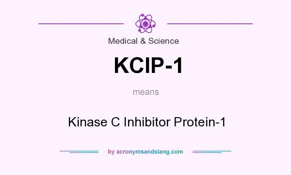 What does KCIP-1 mean? It stands for Kinase C Inhibitor Protein-1