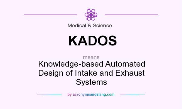 What does KADOS mean? It stands for Knowledge-based Automated Design of Intake and Exhaust Systems