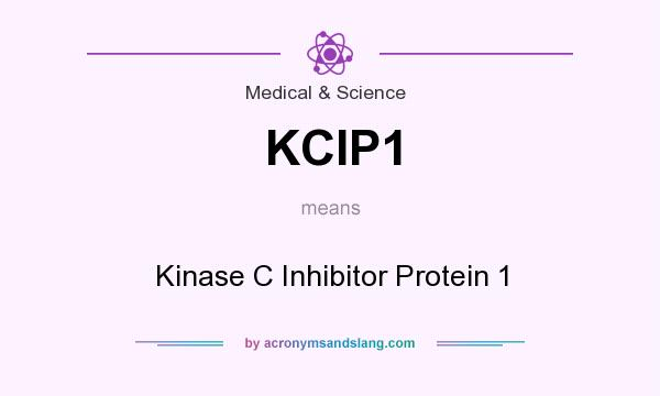 What does KCIP1 mean? It stands for Kinase C Inhibitor Protein 1