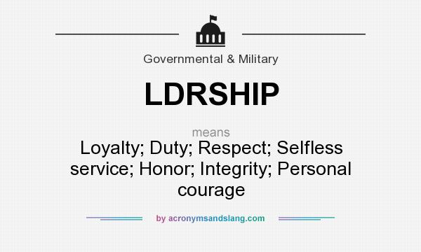 seven army values in the acronym Essays on army values integrity, essay, skill, they are broken down to us in the acronym ldrship which is short for duty, convenience store, and devoting yourself to it.