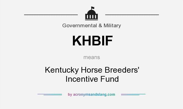 What Does KHBIF Mean