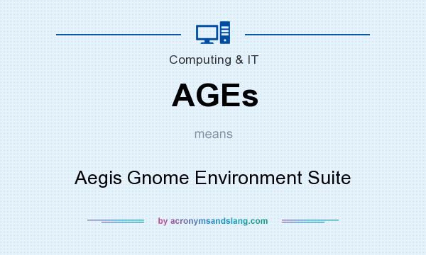 What does AGEs mean? It stands for Aegis Gnome Environment Suite