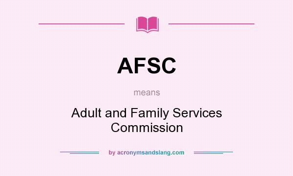 adult family services