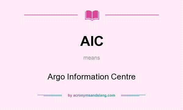 a role of aic in the hospitals