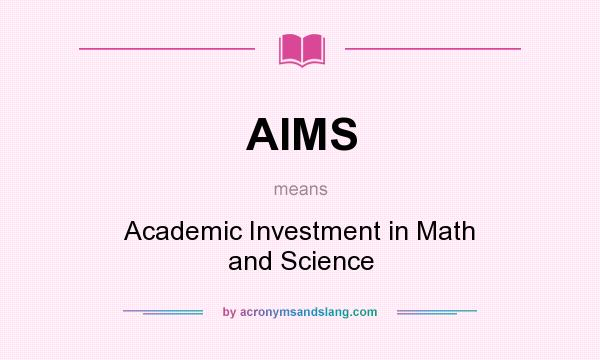 what are the aims of academic