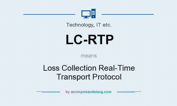 What does LC-RTP mean? It stands for Loss Collection Real-Time Transport Protocol