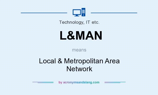 What does L&MAN mean? It stands for Local & Metropolitan Area Network