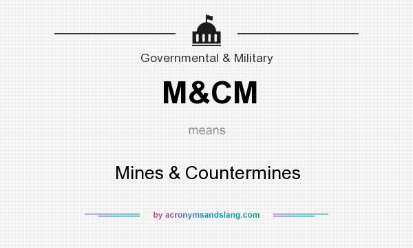 What does M&CM mean? It stands for Mines & Countermines