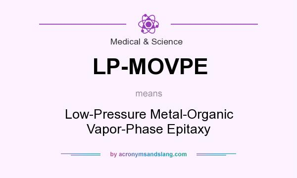 What does LP-MOVPE mean? It stands for Low-Pressure Metal-Organic Vapor-Phase Epitaxy
